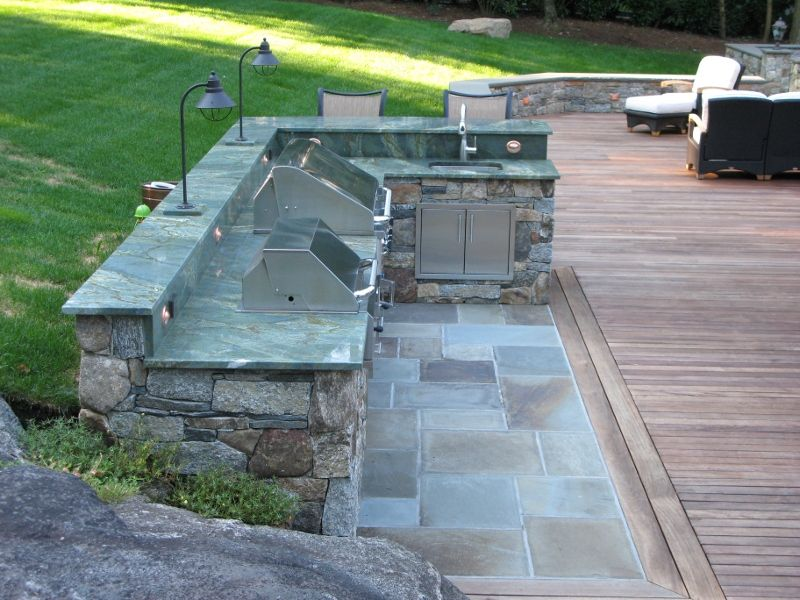 Outdoor Kitchen For Fun Outdoor Living Space