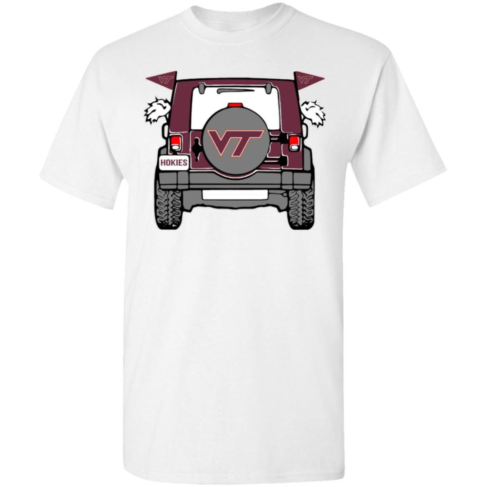 Jeep Sport Virginia Tech Hokies Unisex TShirt Dumanus