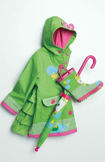 Western Chief 'Hello Kitty® Froggy' Raincoat (Toddler & Little ...