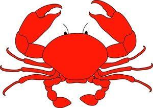 cartoon crab clipart free clip art images drawing pinterest rh pinterest com free crab clipart images free clipart crab pictures