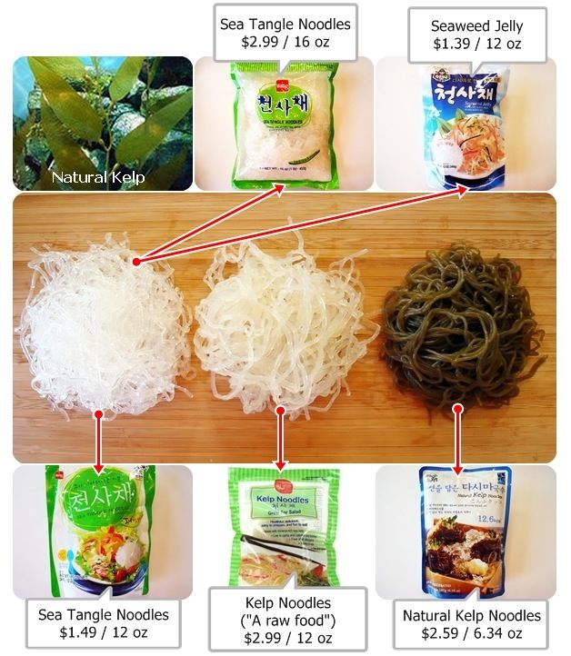 Kelp noodles, less carbs and much healthier | Health ...
