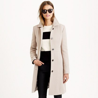 Petite double-cloth lady day coat with Thinsulate® - bittersweet ...