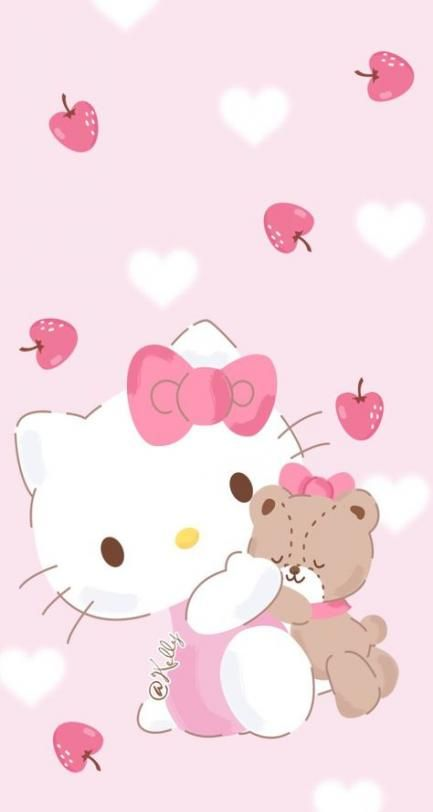 68 Ideas for birthday background wallpapers pink hello kitty