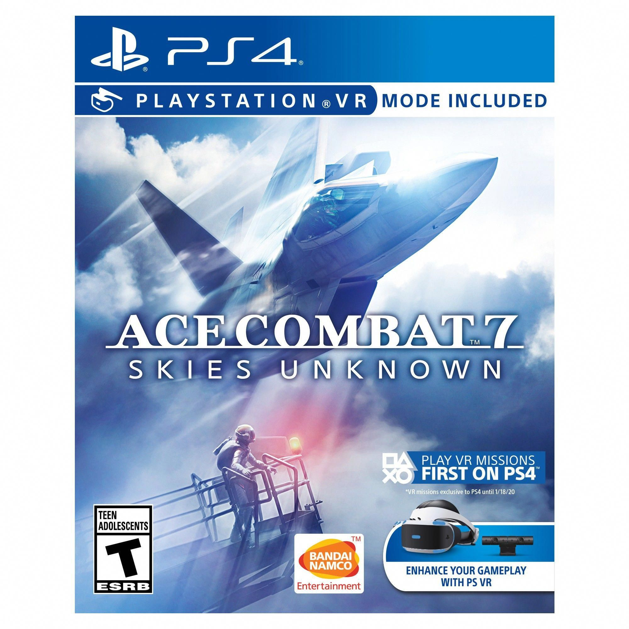 Ace Combat 7 Skies Unknown PlayStation 4 nintendoswitch