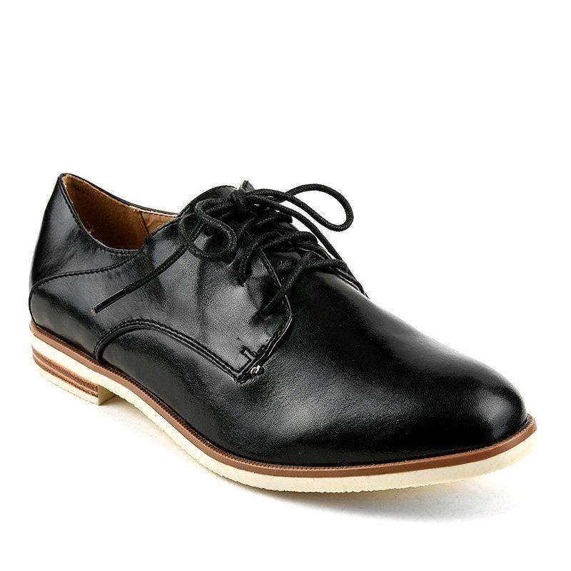 Czarne Jazzowki Polbuty Klasyczne 885 Y Dress Shoes Men Oxford Shoes Shoes