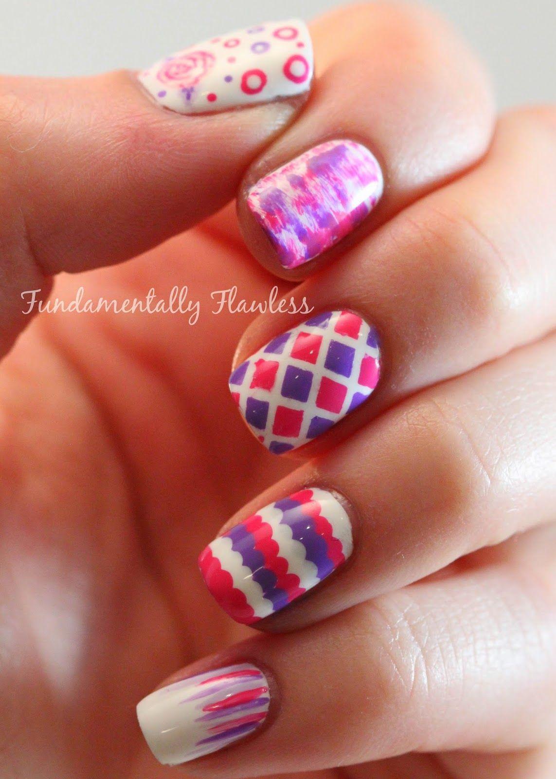 Fundamentally Flawless: Nail Art with new Models Own Nail Art Tool ...