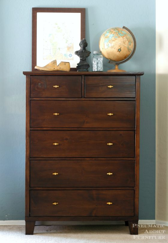 Tall Dresser With Tapered Legs Tall Dresser Pottery