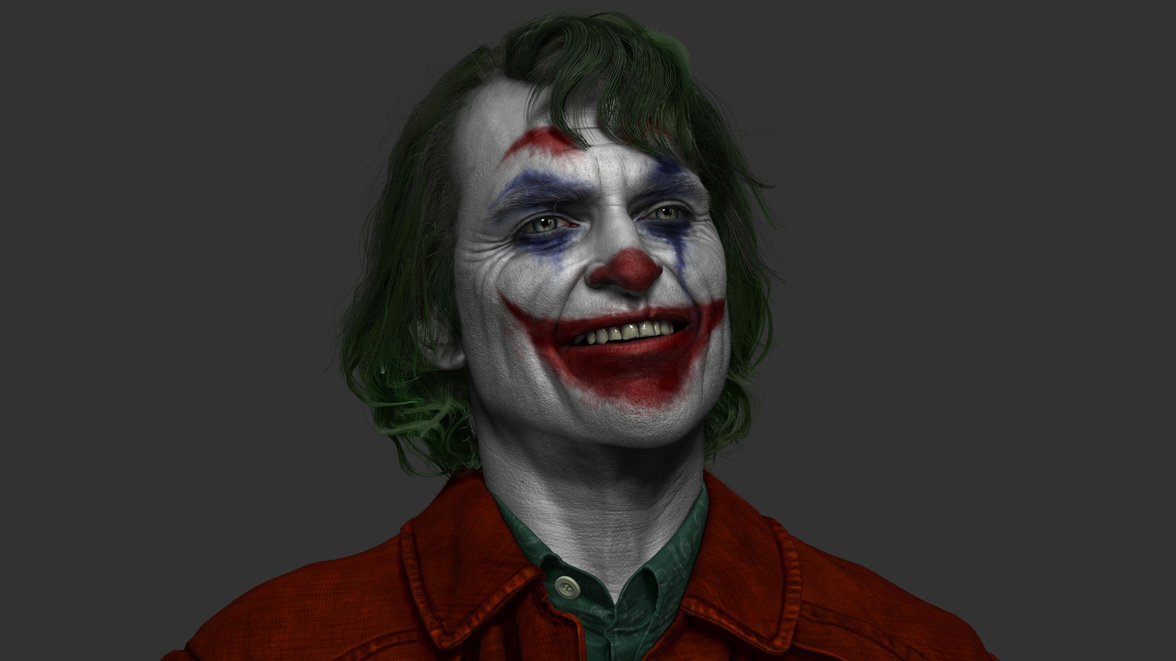Joker Joaquin Phoenix Artwork 4k Superheroes Wallpapers