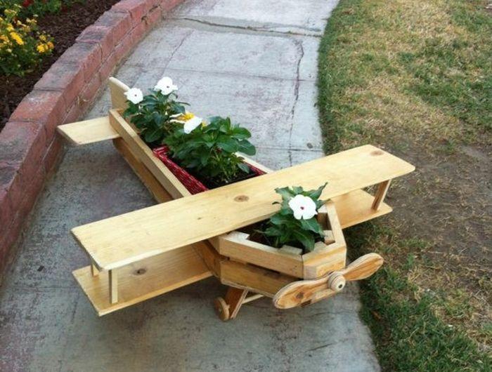 1001 tutoriels et id es pour fabriquer une jardini re en palette jardin pinterest. Black Bedroom Furniture Sets. Home Design Ideas