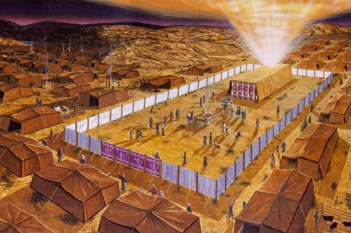 El tabernáculo de Moisés: Su estructura y simbolismo | Moises, Plan ...