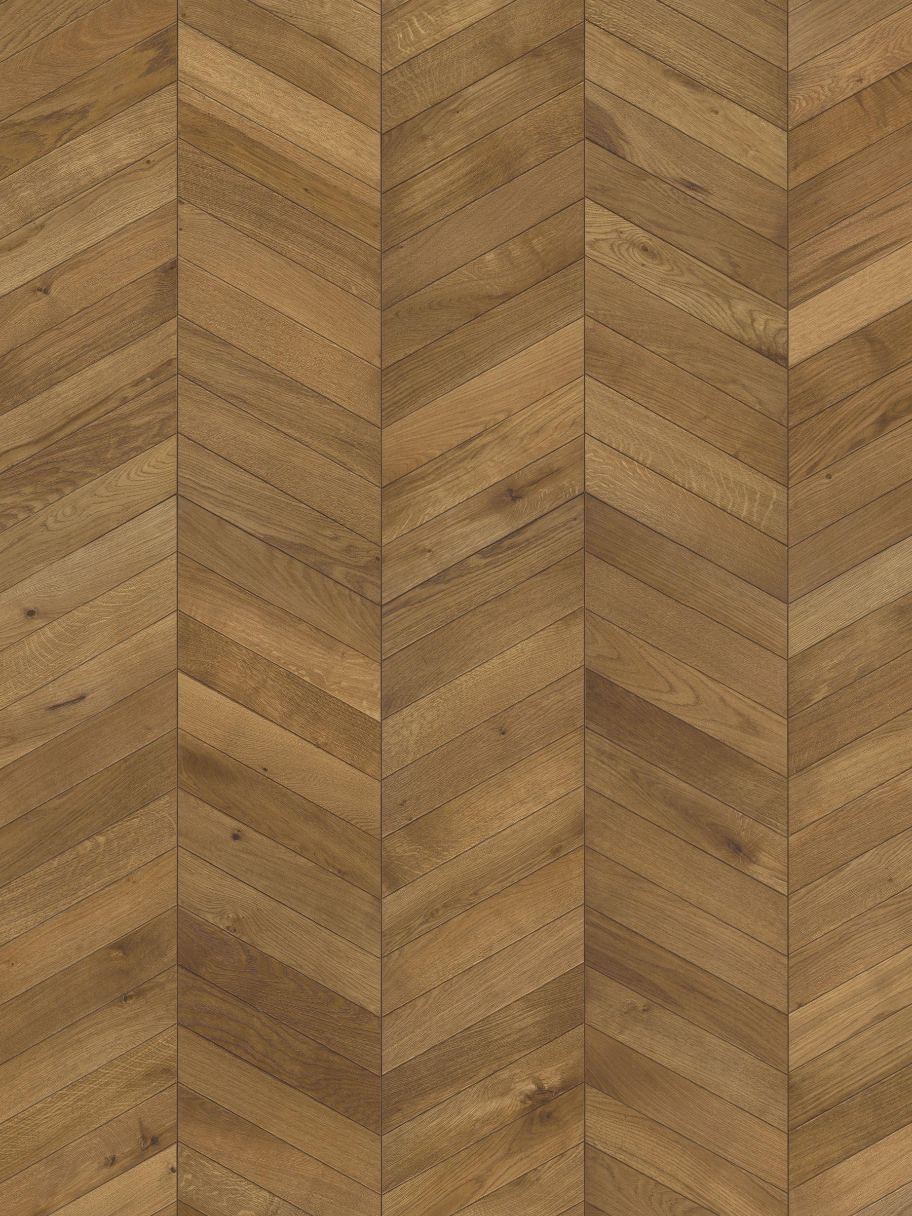 Kahrs Chevron Hard Flooring, Light Brown