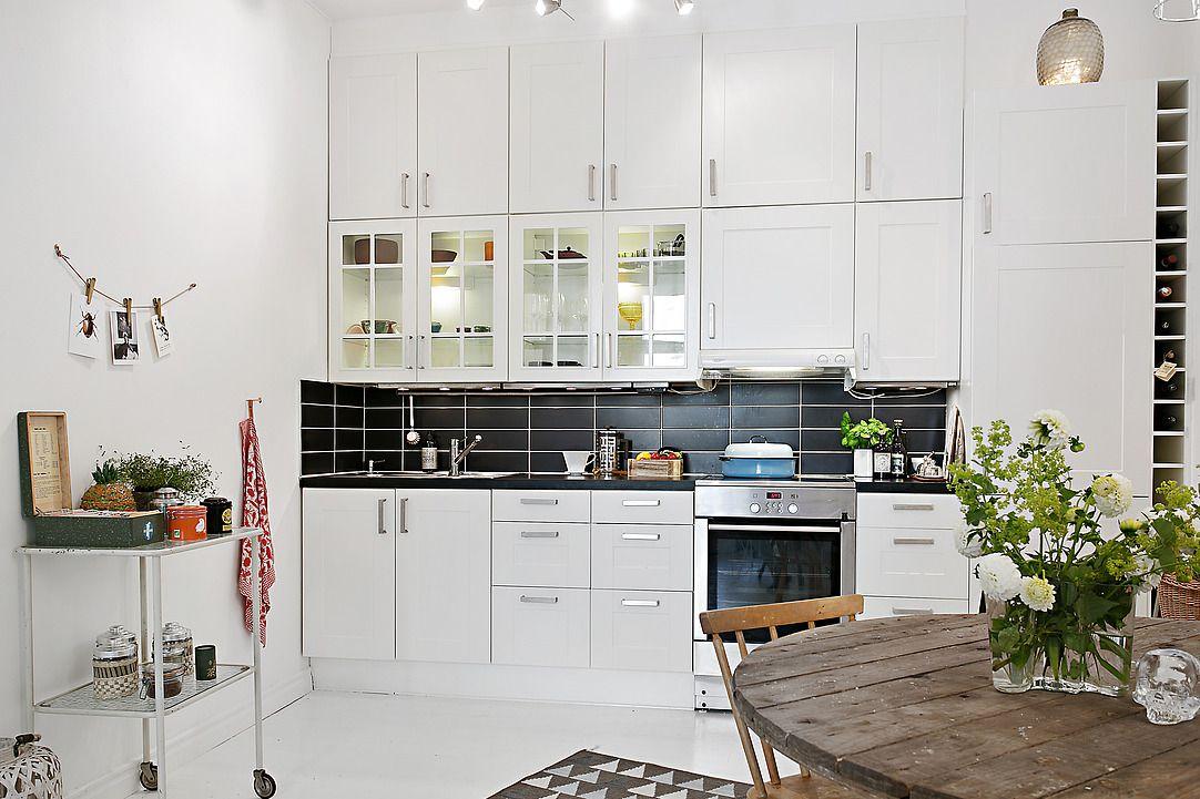 Design studio inspirant à Göteborg Femina kitchen inspiration - kchenfronten modern