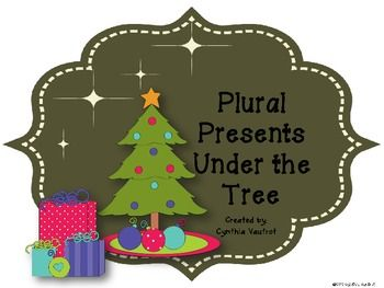 Plural Presents Under the Tree | Christmas Around the World Unit ...