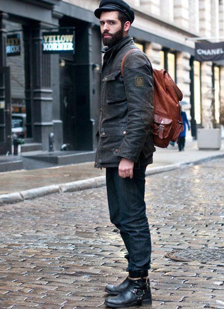 Street Style Belstaff Blaster Jacket Http Www