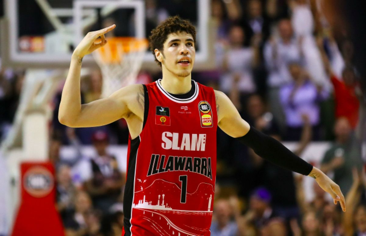 Lamelo Ball Becomes Youngest Player In Nbl History To Record A Triple Double In 2020 Lamelo Ball National Basketball League Nba Pictures