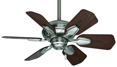 Casablanca -The ETL damp-rated Wailea fan, inspired by Casablanca's popular Capistrano and Lanai fans, is perfectly suited for small spaces. It's specially designed with a 25° blade pitch that's optimized for maximum air movement, so don't let the compact size fool you, this small fan still packs a punch. This 31`` wide fan is ideal for bathrooms, laundry rooms, walk-in closets and kitchens where ventilation is needed