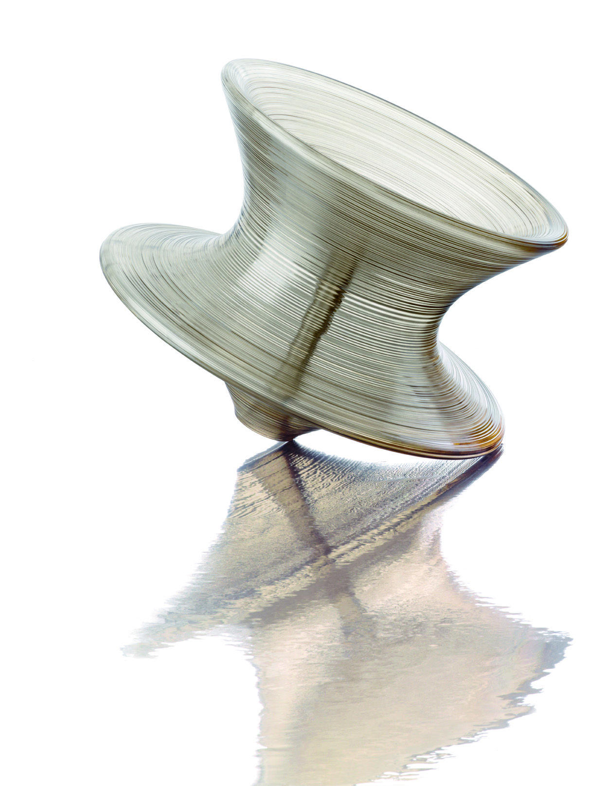 Magis Spun Chair Herman Miller Smoke Polycarbonate