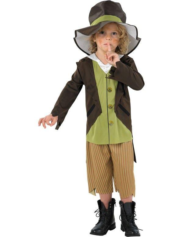 Kind Victoriaans Schoffie Kostuum ==> Feestkleding 365!