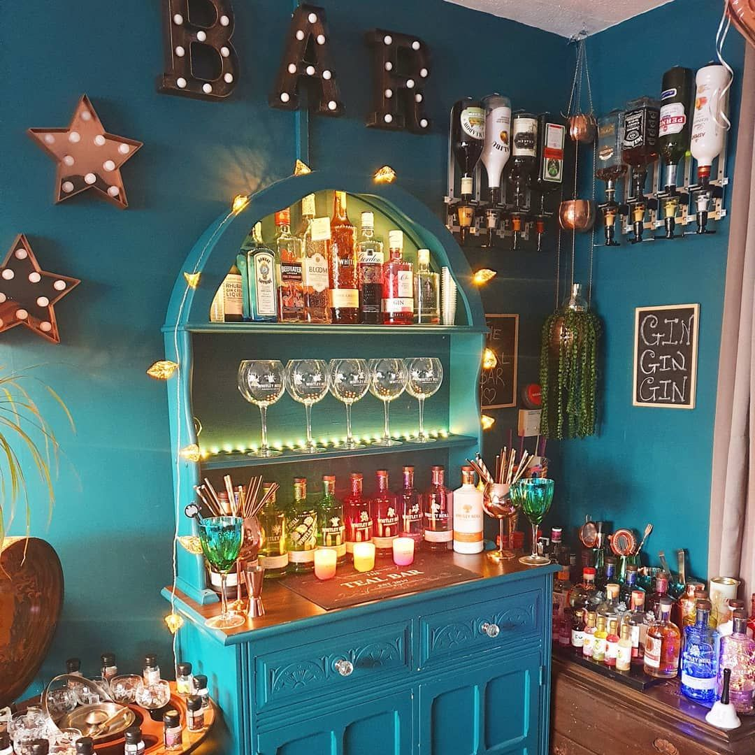Are These The Prettiest Home Gin Bars On The Planet In 2020 Home Cocktail Bar Gin Bar Home Bar Rooms