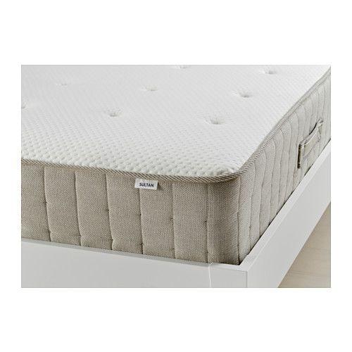 Ikea Sultan Heggedal Natural Material Spring Mattress Full 25 Year