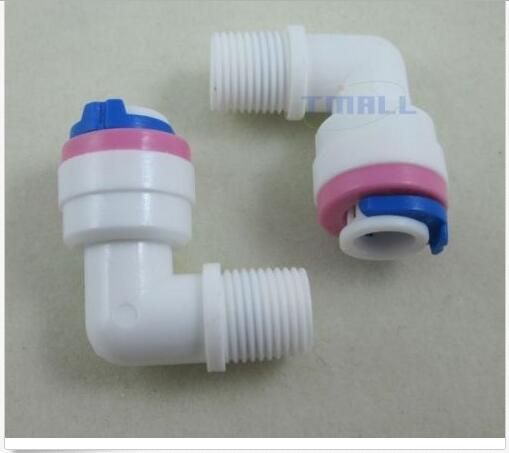 2pcs 1 8 Thread Male To 1 4 Tube Elbow Check Valve For Ro Reverse Osmosis Reverse Osmosis Valve Ebay