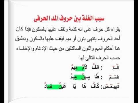 تبسيط أحكام التجويد أحكام المد 07 Islam Facts Learn Arabic Language Quran
