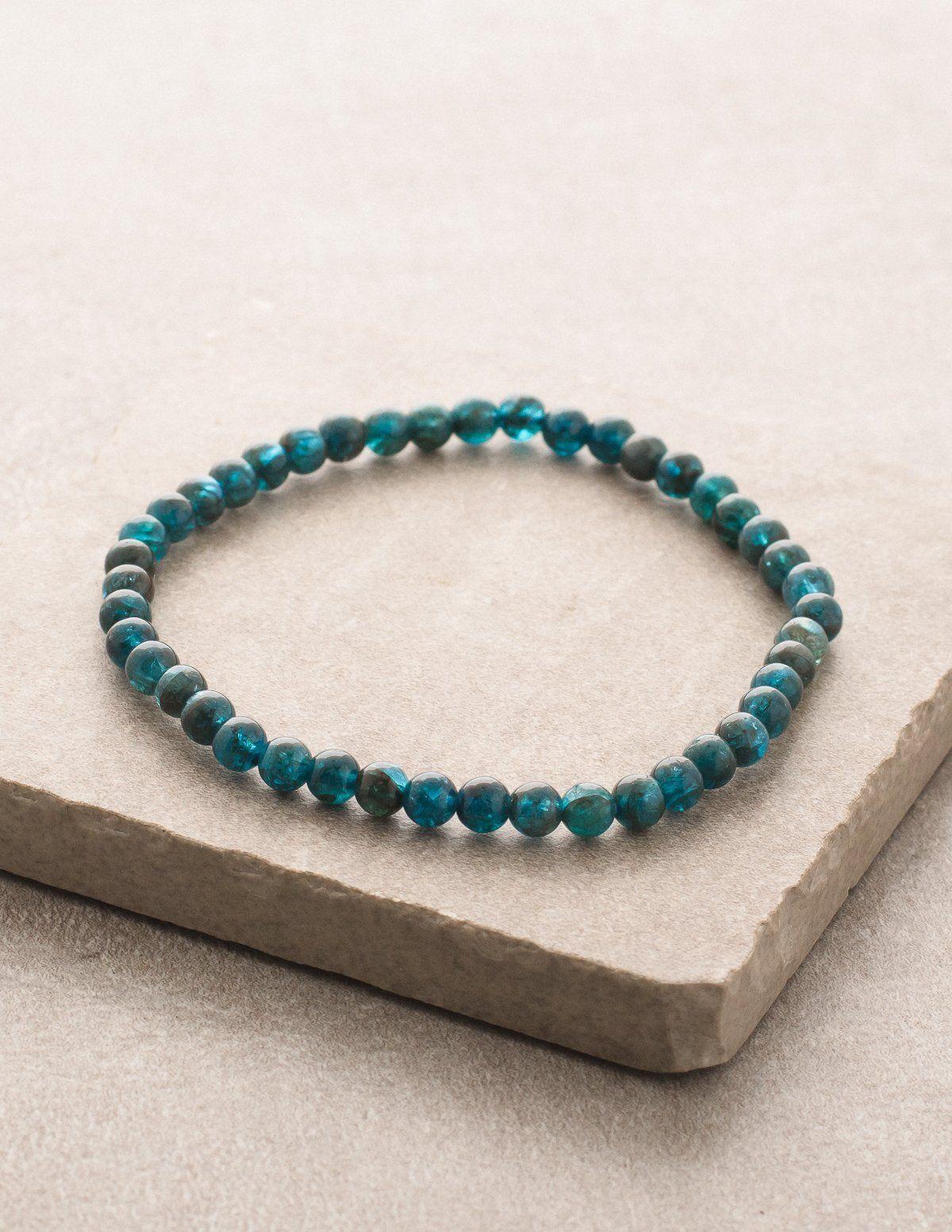 Apatite Mini Energy Gemstone Bracelet Gemstones Energy Energy Bracelets Bracelets