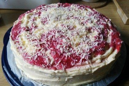 Erdbeer Spaghettieis Torte Rezept Spaghetti Eis Lebensmittel Essen Torten