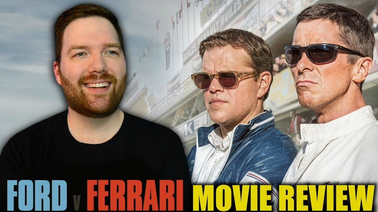 Ford V Ferrari Movie Review Youtube Movies Christian Bale Ford