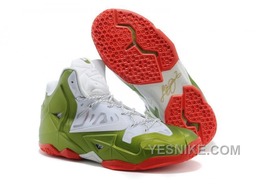 Big Discount  66 OFF Nike LeBron 11 Gold Medalist WhiteGold MedalRed For Sale 309712