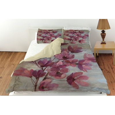 Manual Woodworkers & Weavers April Blooms 2 Duvet Cover Collection
