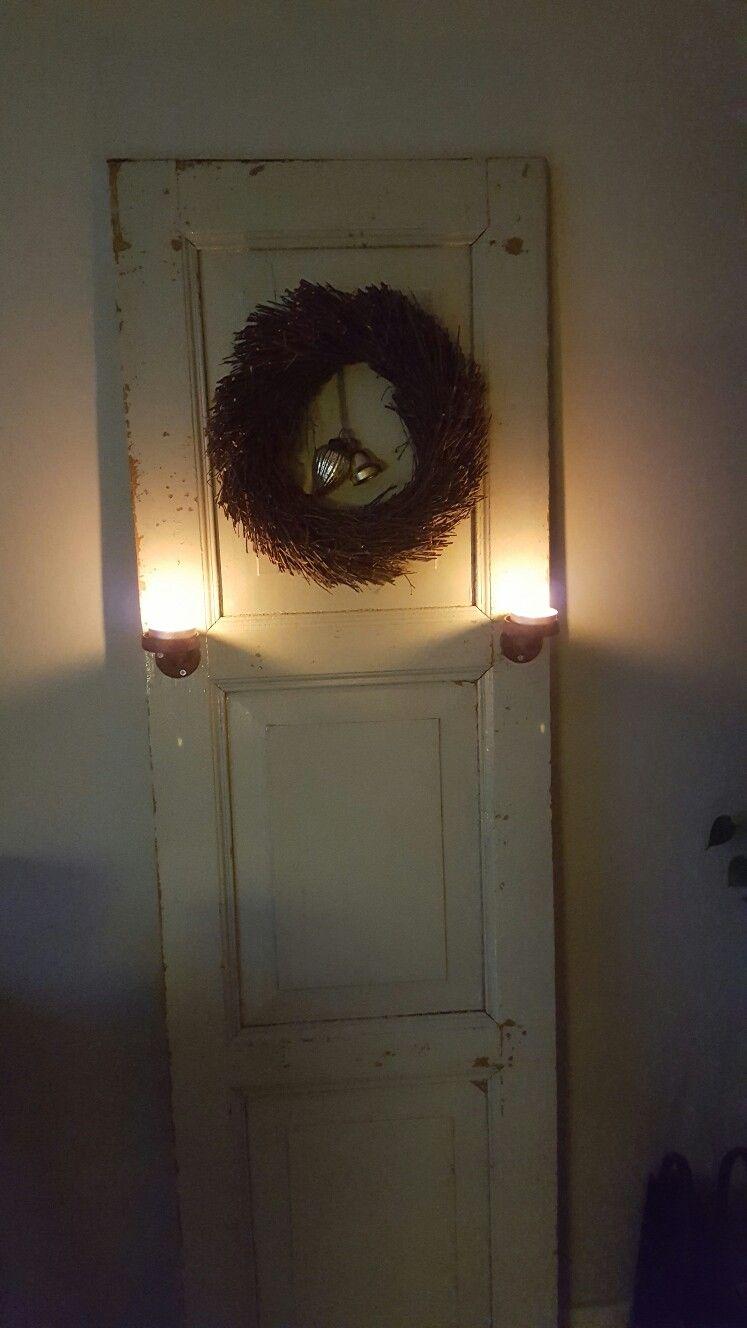 landelijk wonen  oude deur