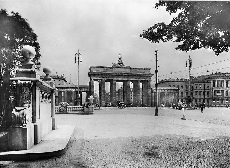 1928 Brandenburger Tor Berlin