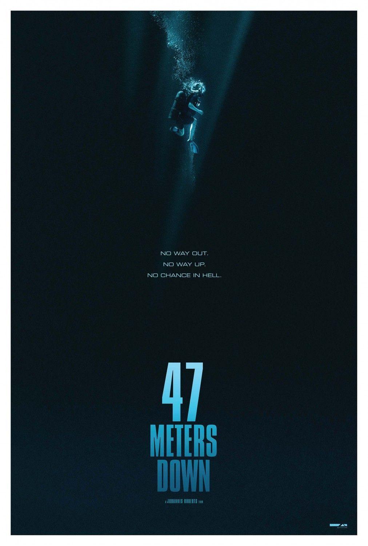 47 Meters Down Movie Poster 1 Poster Film Film Poster