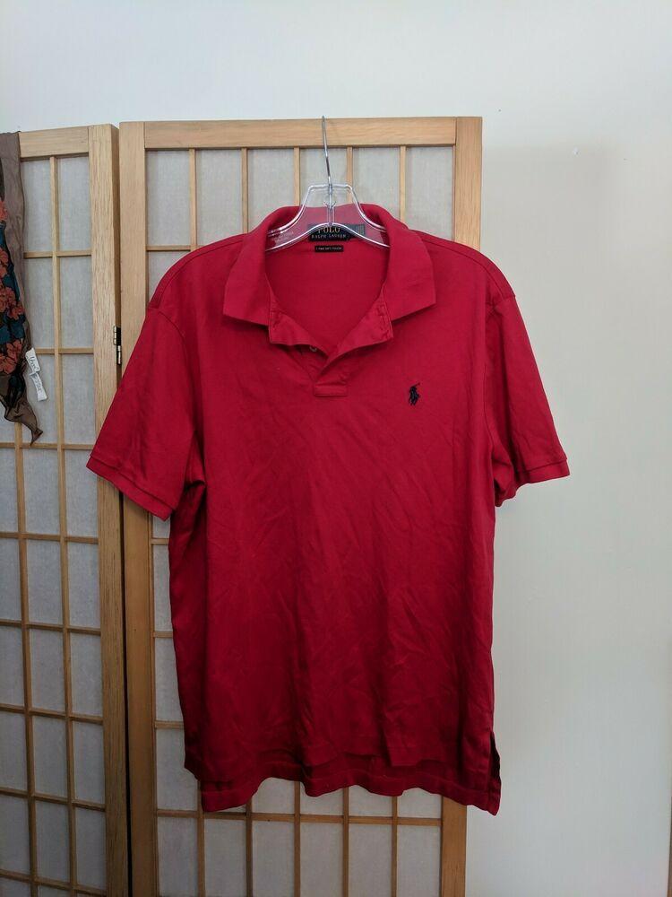 Ralph Lauren Men/'s V-Neck Pima Cotton Jumper Various Colours S-XXL RRP £110