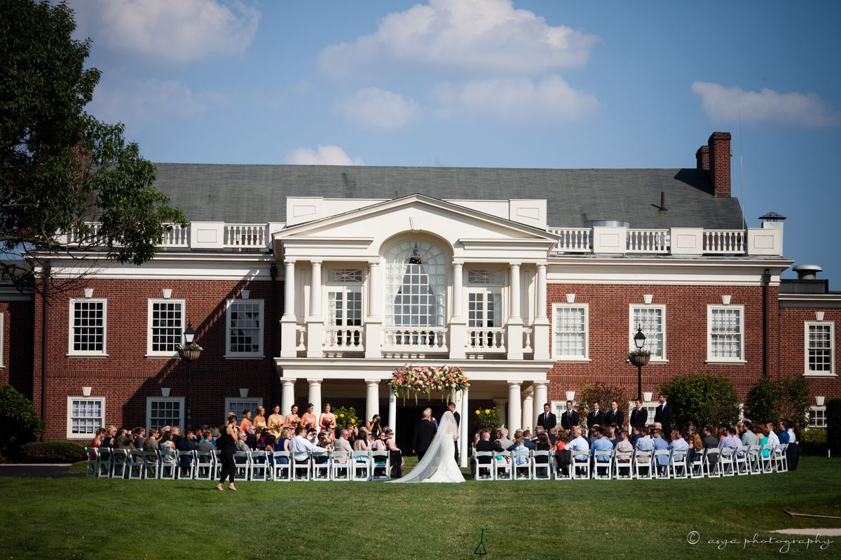 Ceremony At The Philadelphia Cricket Club House Styles Cricket Club Mansions