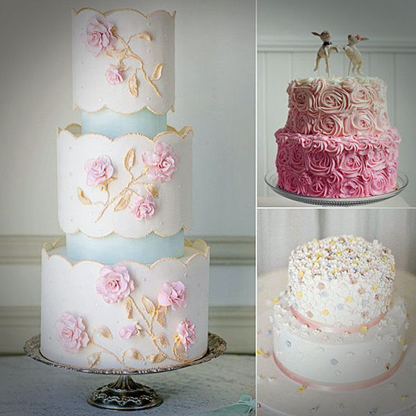 Cake Pink 3 Tier Special Wedding
