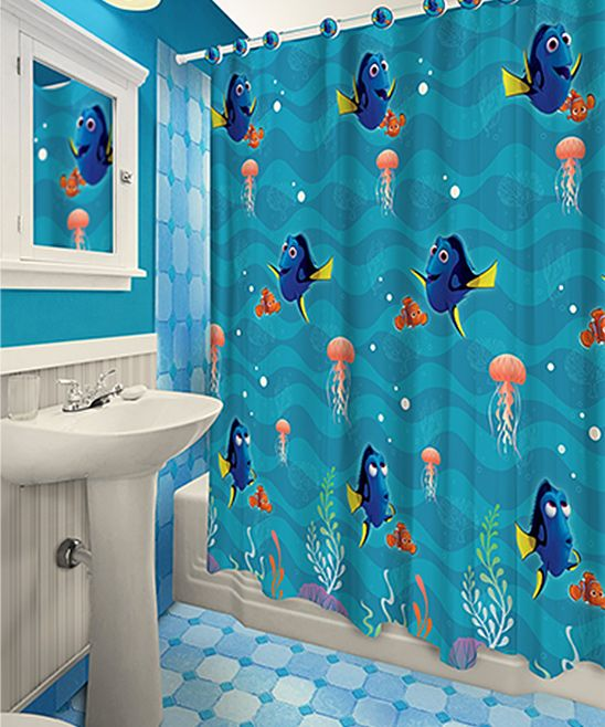 Finding Dory 13-Piece Printed Shower Curtain  Hook Set Products