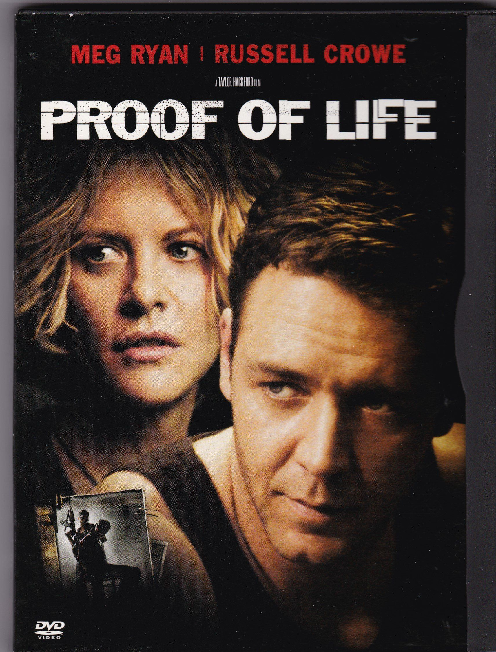 DVD. Proof Of Life with Meg Ryan and Russell Crowe Proof