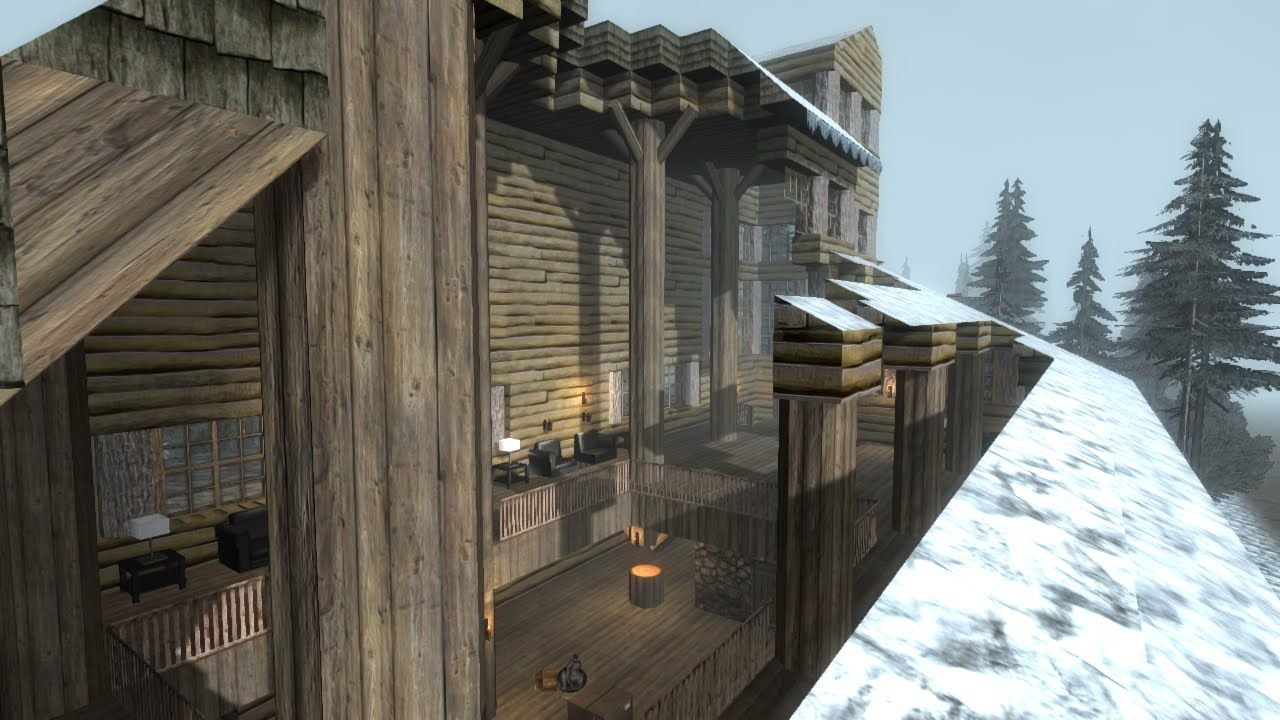 7 Days To Die Total House Failure 7 Days To Die House Safe Room