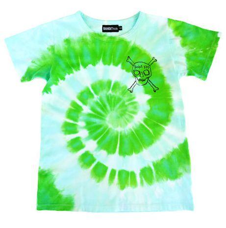 Bandit Kids Sea Green/Jellyfish Tie-Dye Bandits Only Tee - A Little Bit of Cheek