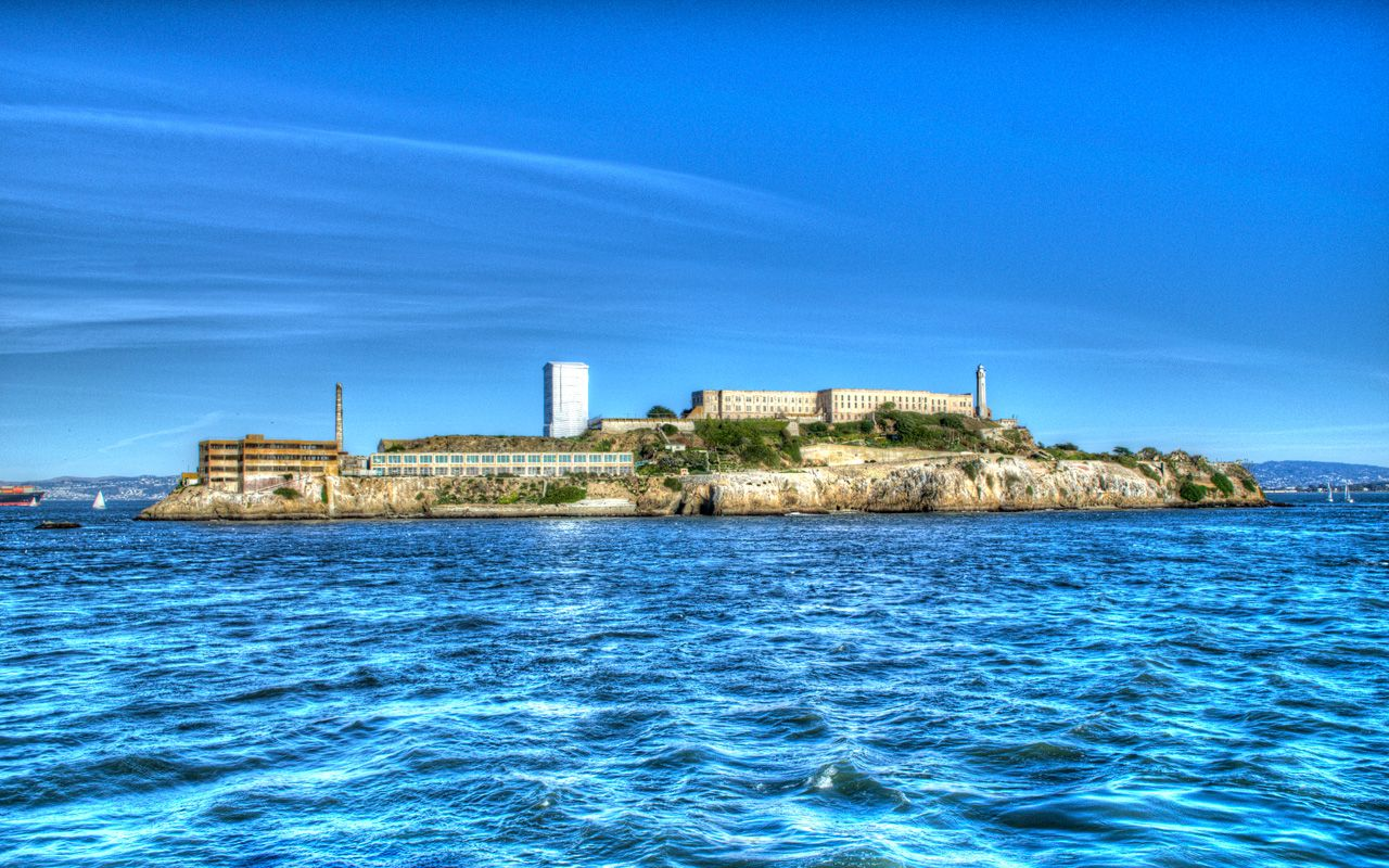 Alcatraz Island In The San Francisco Bay Island Travel Alcatraz