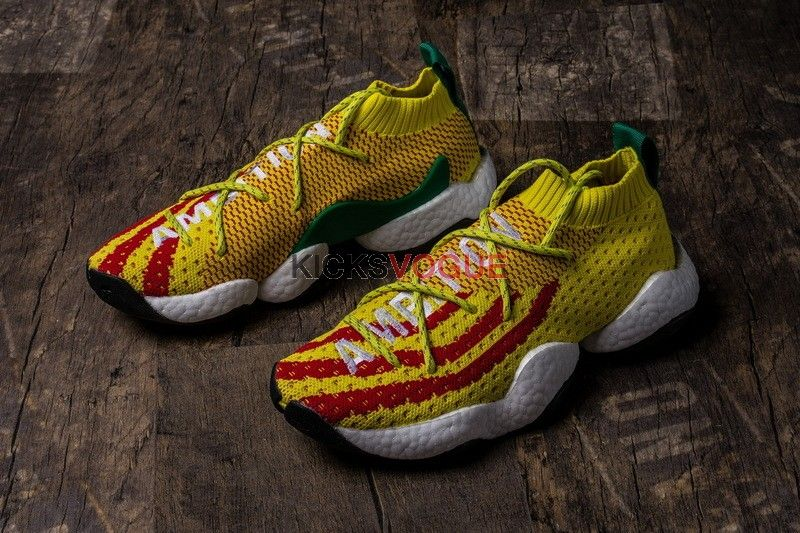 official photos 10fd1 a05dd Limited Edition Pharrell x Adidas Crazy BYW LVL 1 PW 747 Warehouse