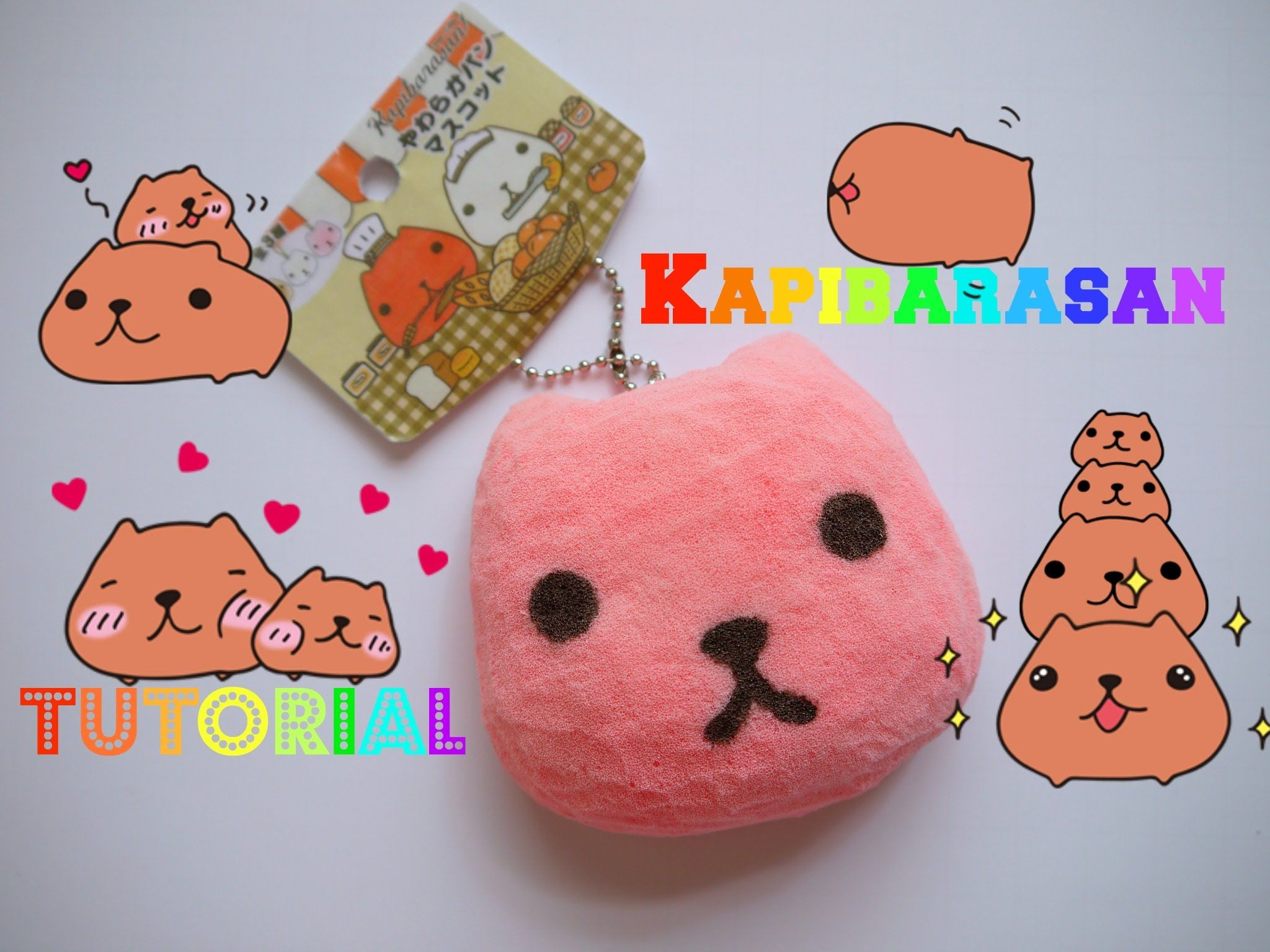 Squishy Bun Diy : Kapibarasan Squishy Tutorial Crafts Pinterest Squishies, Tutorials and Kawaii plush