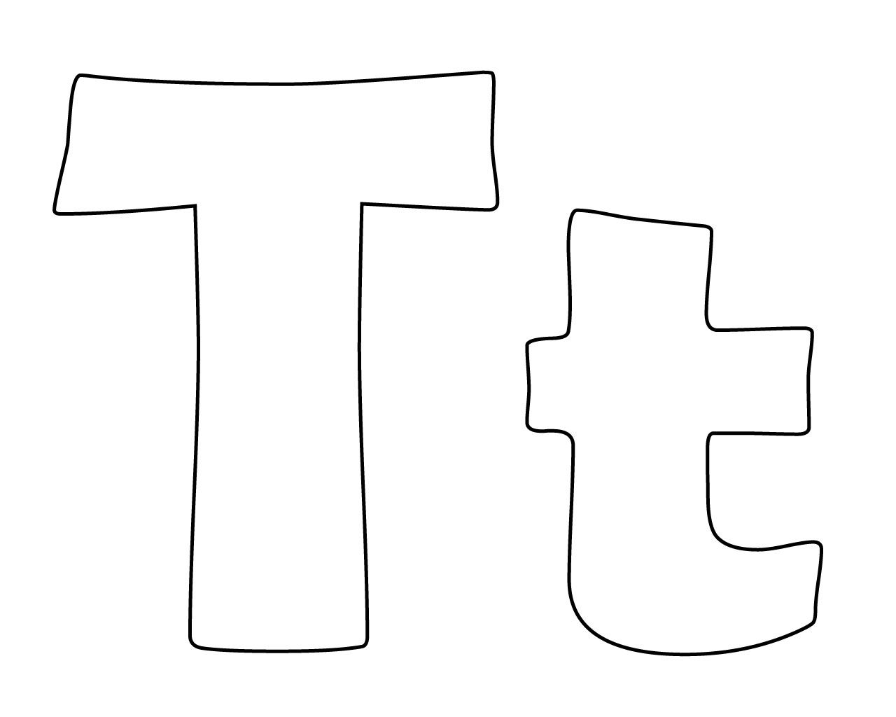 Letter T Coloring Pages Alphabet Coloring Pages Coloring Pages