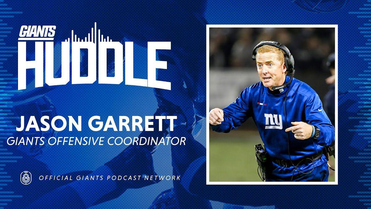 Giants OC Jason Garrett on Joining Joe Judge's Coaching