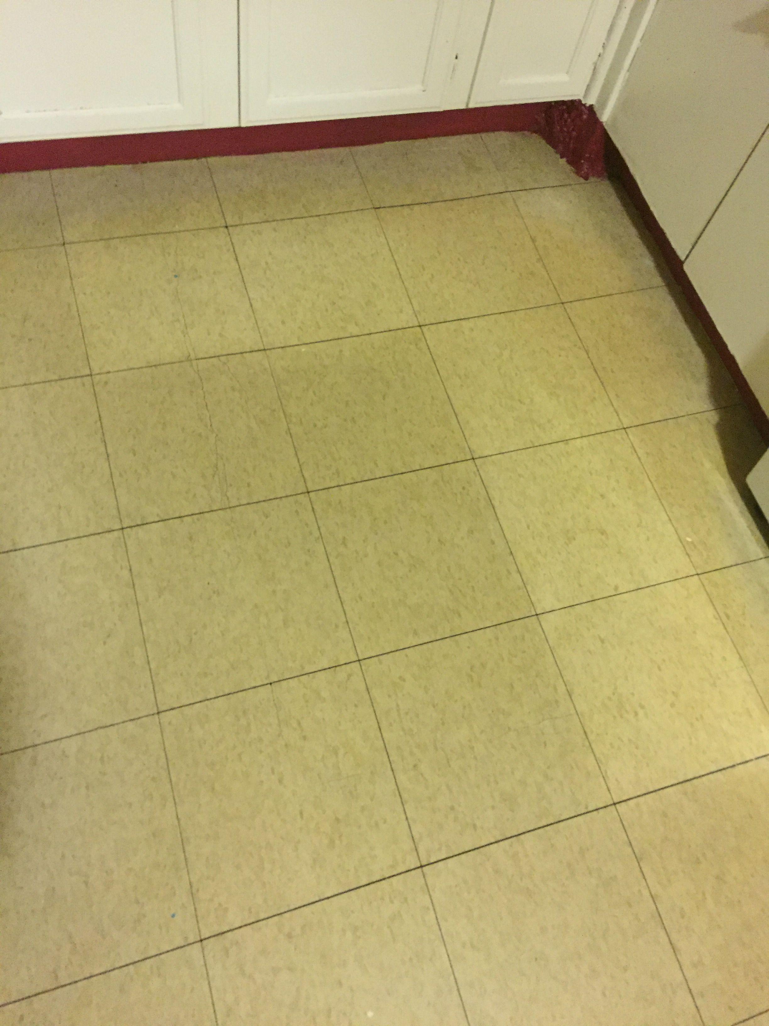 Ajax Powder W Bleach To Deep Clean Yellowing Vinyl Floor Cleaning Vinyl Floors Flooring Vinyl Flooring