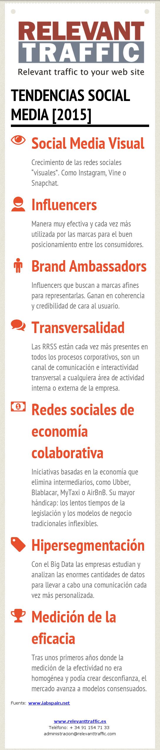 Tendencias Social Media 2015