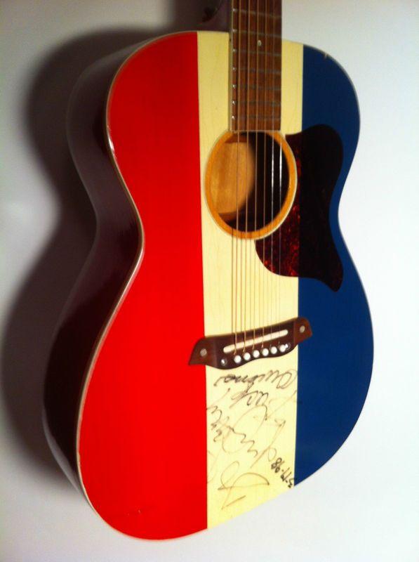Vintage 1970 H F70 Harmony Buck Owens American Guitar Autographed