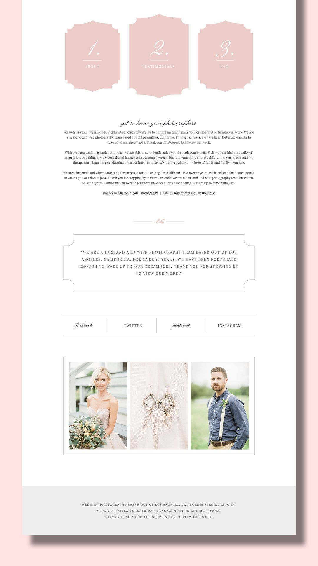 Our High End Squarespace Templates Allow Professional Photographers Creatives To Photographer Marketing Photography Marketing Materials Photography Templates